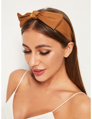 Bow Tie Decor Headband 1pc
