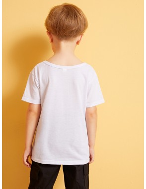 Toddler Boys Slogan Print Tee