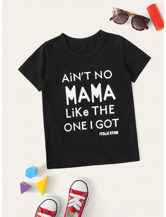 Toddler Boys Slogan Graphic Tee